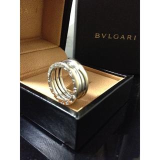 ブルガリ(BVLGARI)のBVLGARI B-ZERO1  K18WG 750 9号 ゼロワンリング(リング(指輪))