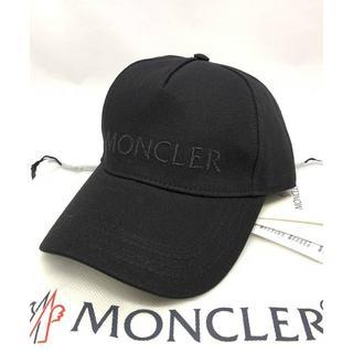 MONCLER - 新品 20SS モンクレール ロゴラメ刺しゅう キャップ