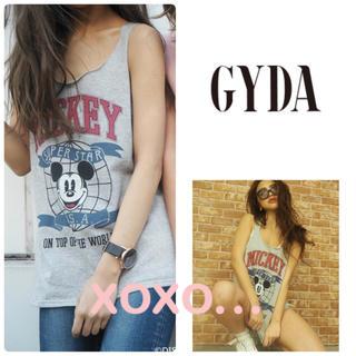ジェイダ(GYDA)のGYDA カレッジスウェット タンクトップ(タンクトップ)