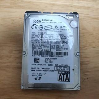 ヒタチ(日立)の使用時間短い 日立 HITACHI 2.5インチHDD ハードディスク160GB(PCパーツ)