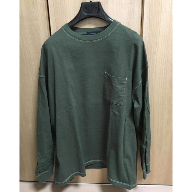 RAGEBLUE(レイジブルー)のレイジブルーのビッグカットソー メンズのトップス(Tシャツ/カットソー(七分/長袖))の商品写真