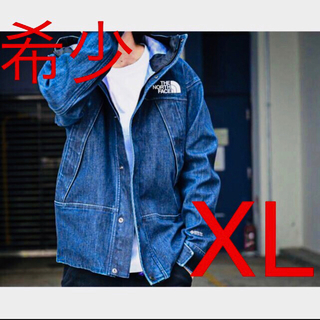 THE NORTH FACE - XL THE NORTH FACE Denim Mountain Jacket