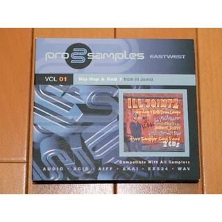 サンプリングCD ProSamples VOL 01 HipHop&RnB(ソフトウェア音源)