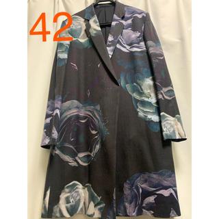 LAD MUSICIAN - 17ss 花柄 ロングジャケット 42サイズ