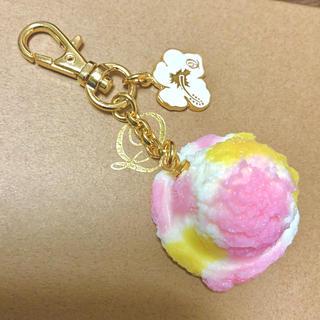キューポット(Q-pot.)のQ-pot.ハワイ店限定☆ハワイアントロピカルアイスクリームのバッグチャーム(チャーム)