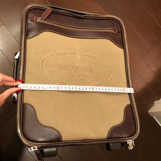 プラダ(PRADA)のお値下げPRADAキャリーケース(スーツケース/キャリーバッグ)