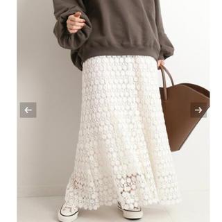 IENA - 【新品タグ付】【LUANA /ルアナ】レースマーメイドスカート