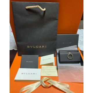 ブルガリ(BVLGARI)のBVLGARI ブルガリ キーケース .レザー(キーケース)