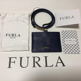 Furla - FURLAパスケース ネイビー