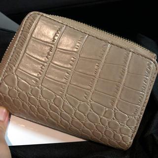 しまむら - プチプラのあや クロコ財布