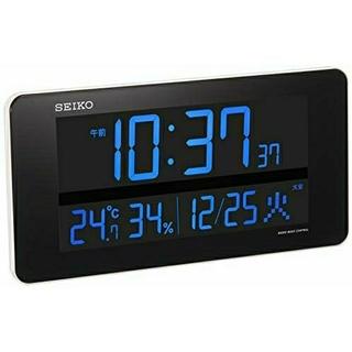 セイコー(SEIKO)のセイコー クロック 掛け時計 置き時計 兼用 電波 デジタル 交流式 カラー液晶(置時計)