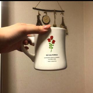 ロンハーマン(Ron Herman)のロンハーマン!薔薇マグカップ(グラス/カップ)