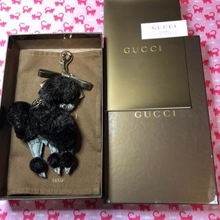 グッチ(Gucci)のグッチ(GUCCI)⭐️キーホルダー チャーム⭐️犬 プードルのルル(キーホルダー)