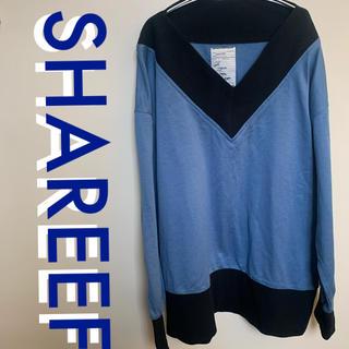 シャリーフ(SHAREEF)のShareef シャリーフ  Vネックプルオーバーシャツ 長袖(Tシャツ/カットソー(七分/長袖))