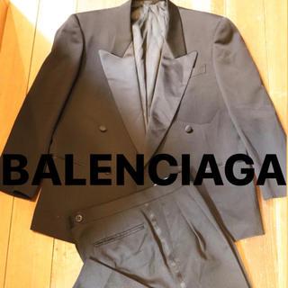 Balenciaga - BALENCIAGA セットアップ ダブル 黒