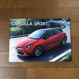 トヨタ(トヨタ)のCOROLLA SPORT カローラスポーツ 最新カタログ(カタログ/マニュアル)