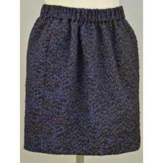 Drawer - 定価約4万円 drawer ドゥロワー ラメ スカート 38