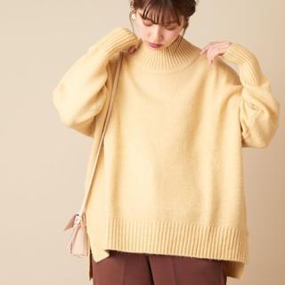 ナチュラルクチュール(natural couture)のふわもち厚手タートルニット ナチュラルクチュール (ニット/セーター)