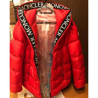 MONCLER - MONCLER モンクレール モンクラー 赤 サイズ4 ノース カナダグース