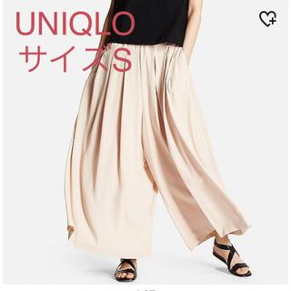 ユニクロ(UNIQLO)のユニクロ ドレープイージースカンツ ピンク S(その他)