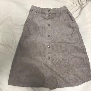 ダブルクローゼット(w closet)の美品●○●グレースカート●○●(ひざ丈スカート)
