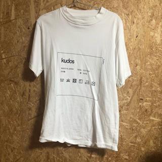 ジョンローレンスサリバン(JOHN LAWRENCE SULLIVAN)のkudos tシャツ(Tシャツ/カットソー(半袖/袖なし))