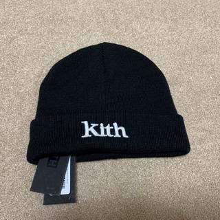 KITH ニット帽  ビーニー black 黒 KITH  キャップ