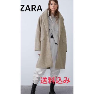 ザラ(ZARA)のブークレコート  値下げ可!!!!!(チェスターコート)