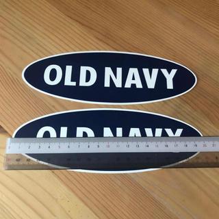 オールドネイビー(Old Navy)のオールドネイビー ステッカー 2枚セット(ノベルティグッズ)