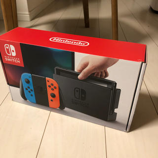 Nintendo Switch - 任天堂Switch スイッチ ネオンブルー レッド