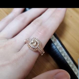 ピンクゴールド☆指輪☆リング☆刻印☆11号12号(リング(指輪))