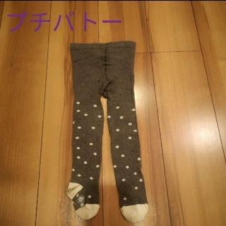 プチバトー(PETIT BATEAU)のプチバトー タイツ ドット(靴下/タイツ)