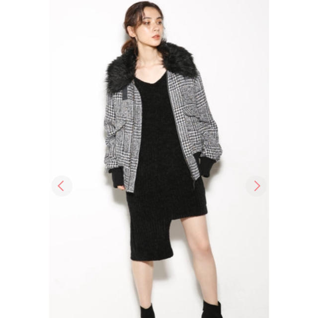 SLY(スライ)のSLY ツイードブルゾン レディースのジャケット/アウター(ブルゾン)の商品写真