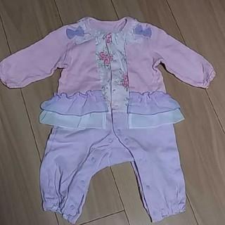 ニシキベビー(Nishiki Baby)の スウィートガール 長袖ロンパース 80(ロンパース)