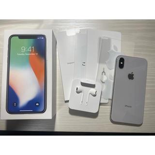 iPhone - iPhone X 256G SIMフリー 美品 使用期間1ヶ月弱