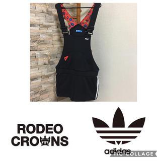 アディダス(adidas)のadidas × ロデオクラウンズ(サロペット/オーバーオール)