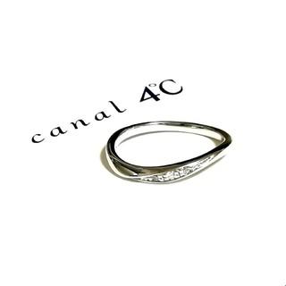 canal4℃ - カナル4°C K10ダイヤモンドリング 7号