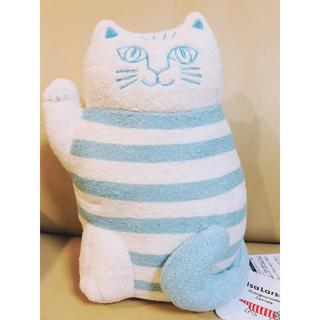 リサラーソン(Lisa Larson)のリサラーソン   まねくねこ タグ付き ぬいぐるみ 福を招く猫 招きネコ 猫好き(ぬいぐるみ)