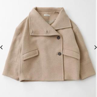 moussy - 今季完売 moussy BIG COLLAR WOOL SHORT コート