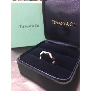 Tiffany & Co. - 美品!!【ティファニー パロマピカソ ジグザグリング 13号】