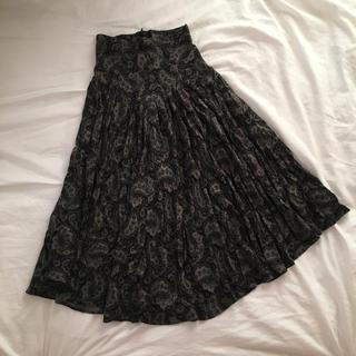 ロキエ(Lochie)のvintage skirts.(出品2/3まで)(ひざ丈スカート)