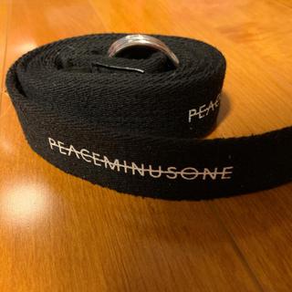 ピースマイナスワン(PEACEMINUSONE)の再出品 正規品 peaceminusoneベルト(ベルト)