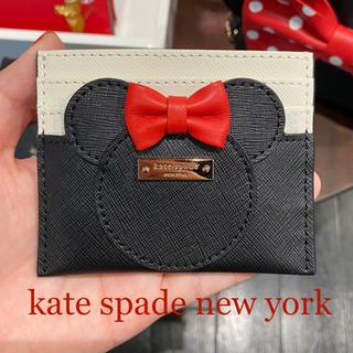 kate spade new york - 新品未使用 ケイトスペード ミニー パスケース kate spade ディズニー