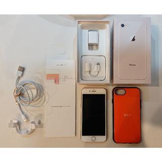 iPhone - 【美品・箱付】docomo iPhone 8 64GB SIMフリー & 備品