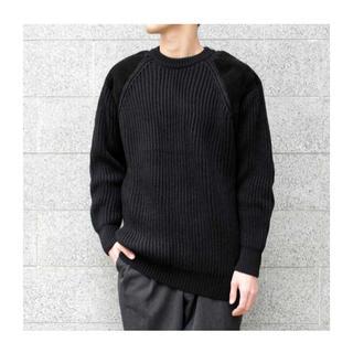 COMOLI - 美品 18AW  COMOLI コモリ BLACK SHEEP ニット