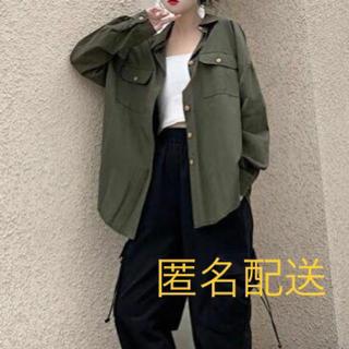 ミリタリーシャツ 羽織りもの アウター レディース J39(シャツ/ブラウス(長袖/七分))