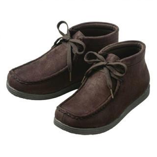 新品未使用  スニーカーブーツ  24.5cm  デザートブーツ(ブーツ)