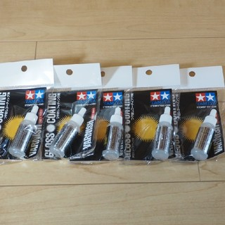タミヤ 87151 メイクアップ材 つや出しコーティング剤5本セット定価3130(プラモデル)