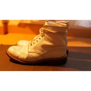 トリッカーズ(Trickers)のTricker's  size UK5 1/2 white.(ブーツ)