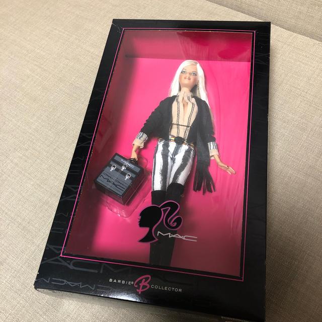 Barbie(バービー)のバービー Barbie M•A•C コラボドール キッズ/ベビー/マタニティのおもちゃ(ぬいぐるみ/人形)の商品写真